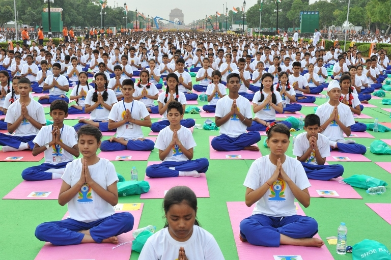 By Narendra Modi - International Yoga Day, CC BY-SA 2.0, https://commons.wikimedia.org/w/index.php?curid=41229238